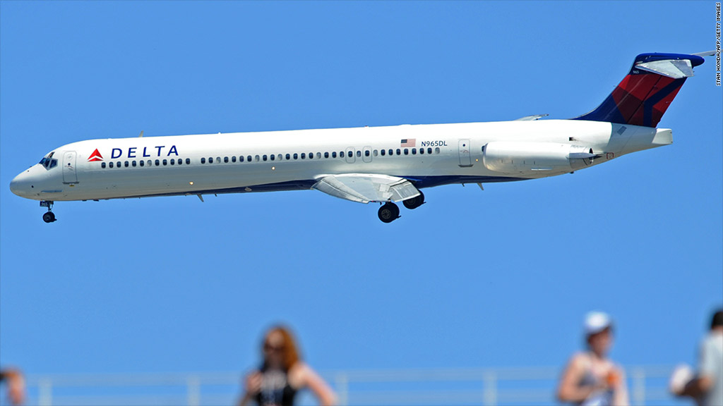 Delta grounds departing flights due to system outage