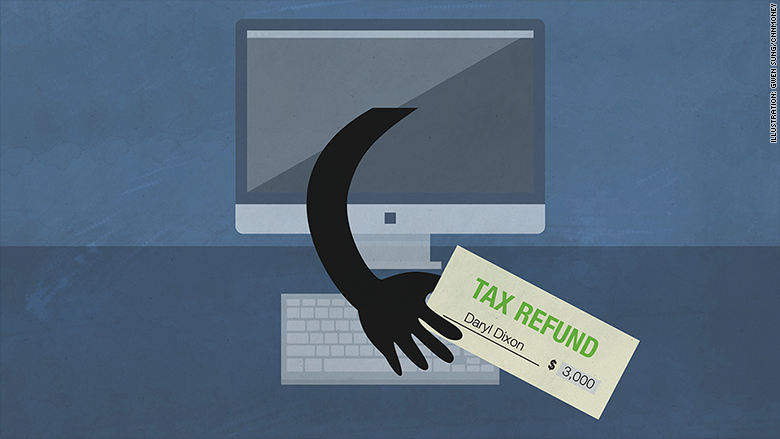 hackers steal tax refund