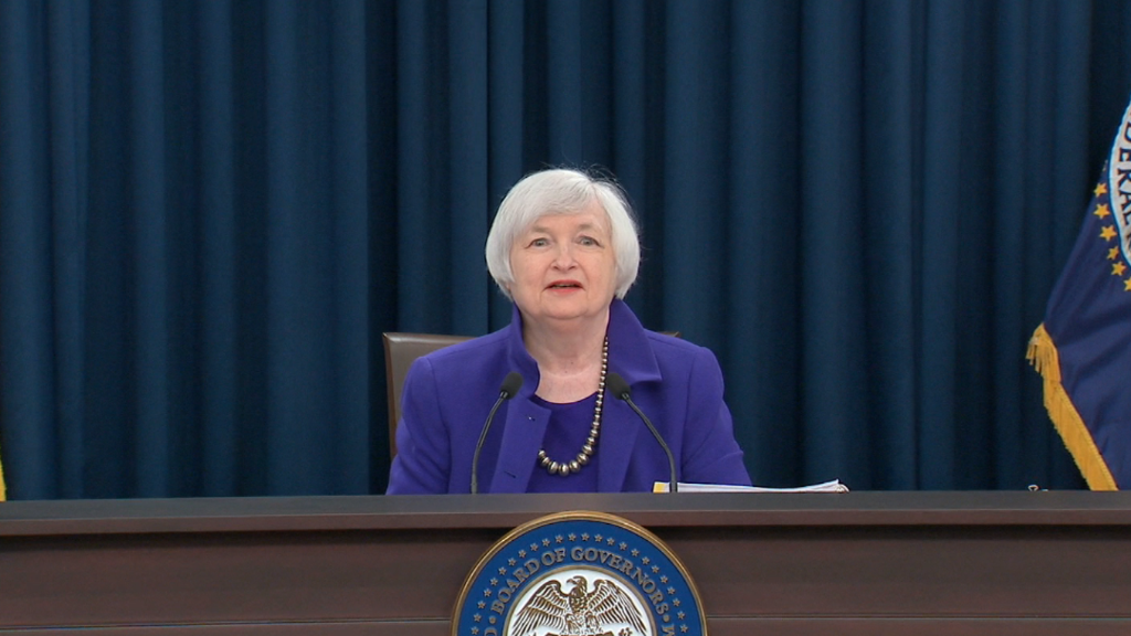 Janet Yellen: End of an 'extraordinary' era