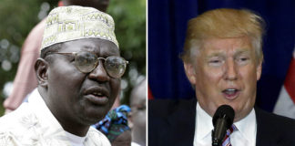 Malik Obama said he would like to meet Trump. © Reuters
