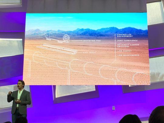 Brogan BamBrogan, one of the cofounders of Hyperloop