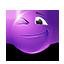 {violet}:wink: