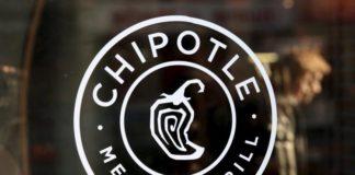 A Chipotle restaurant in Manhattan.
